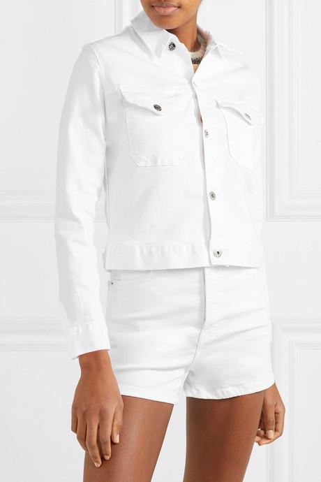 Kaila cropped denim jacket