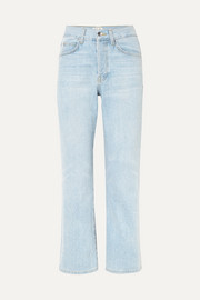 Jane high-rise flared jeans