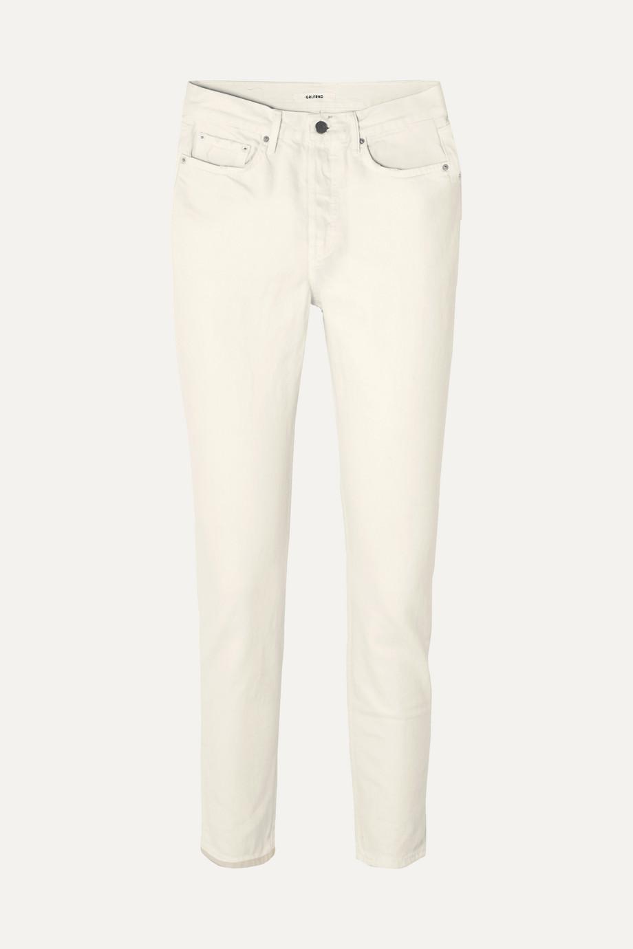 GRLFRND Karolina mid-rise slim-leg jeans