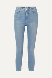 Margot cropped high-rise stretch skinny jeans