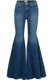 L'Agence Lorde high-rise flared jeans