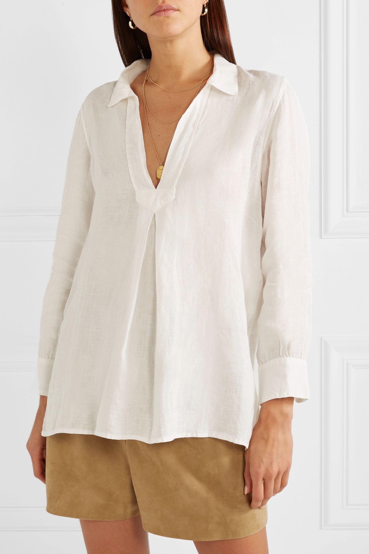 Nili Lotan Emma linen blouse