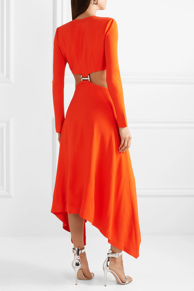 Dion Lee Dresses Embellished cutout cady maxi dress