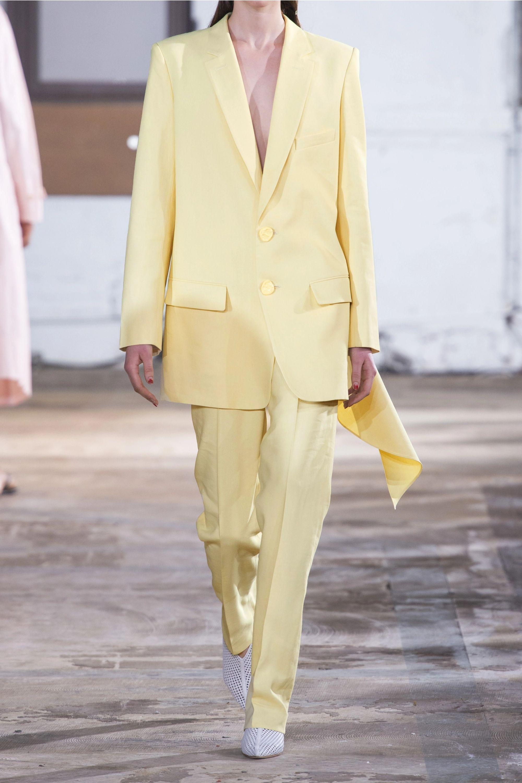 Tibi Oversized twill blazer