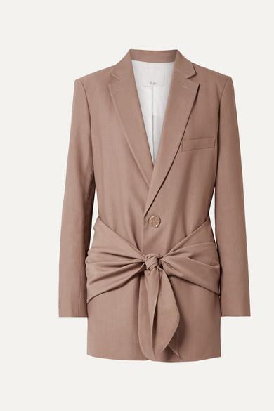 Tibi Blazers Oversized twill blazer