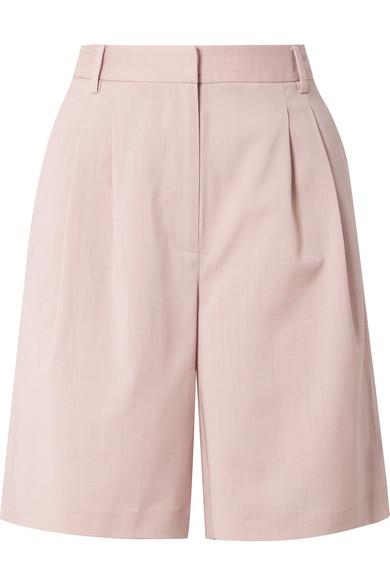 Wool Blend Shorts by Tibi