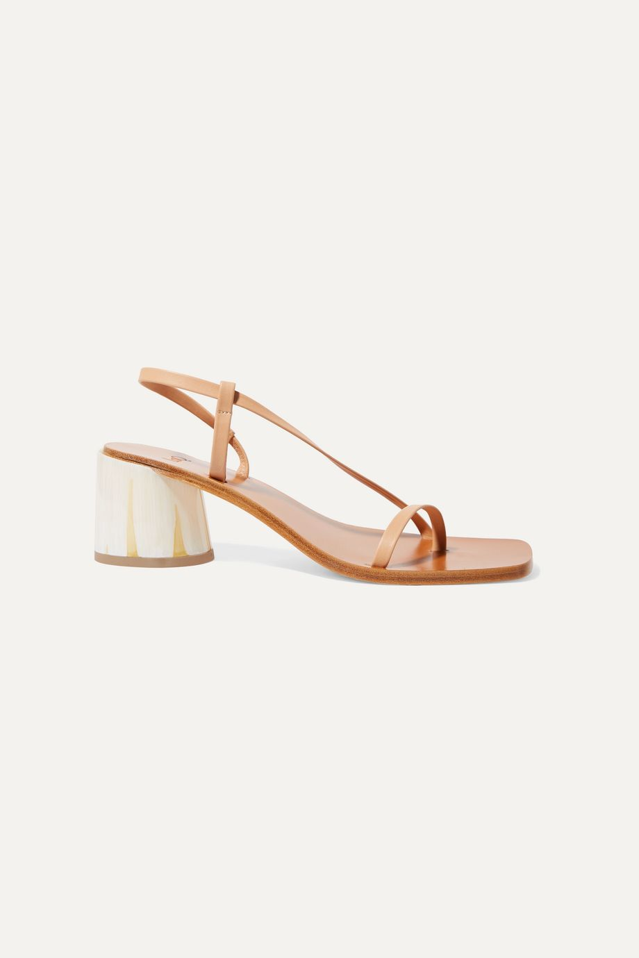 LOQ Isla leather sandals