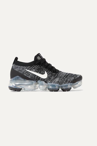 NIKE | Nike - Air Vapormax 3 Flyknit Sneakers - Black | Goxip