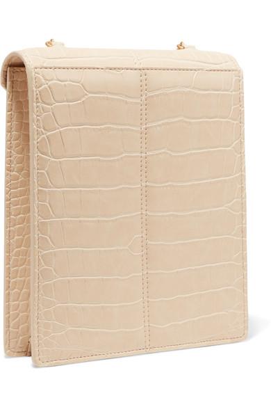 NANUSHKA Shoulder bags Tove croc-effect vegan leather shoulder bag