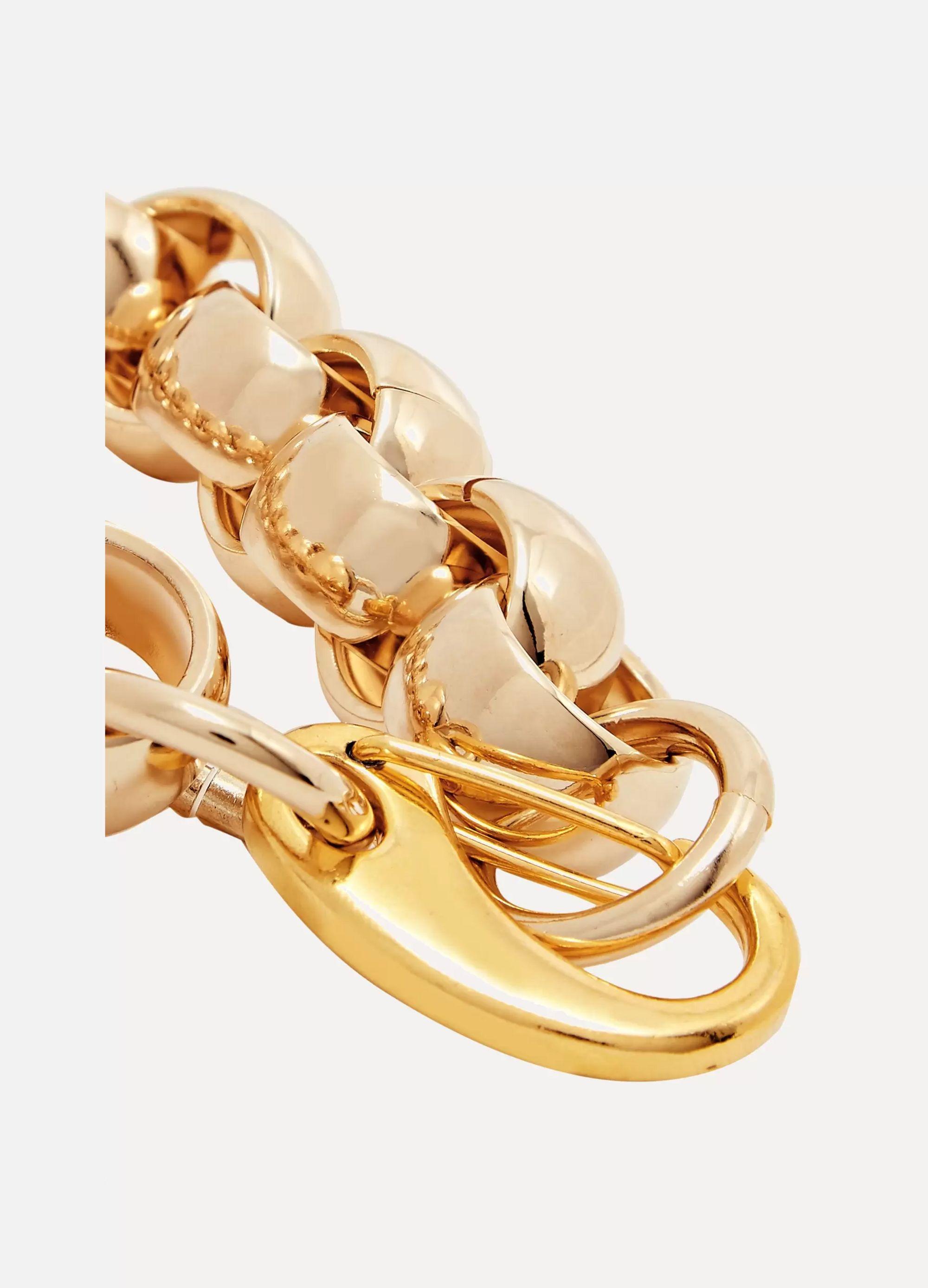 Laura Lombardi Luna gold-tone bracelet
