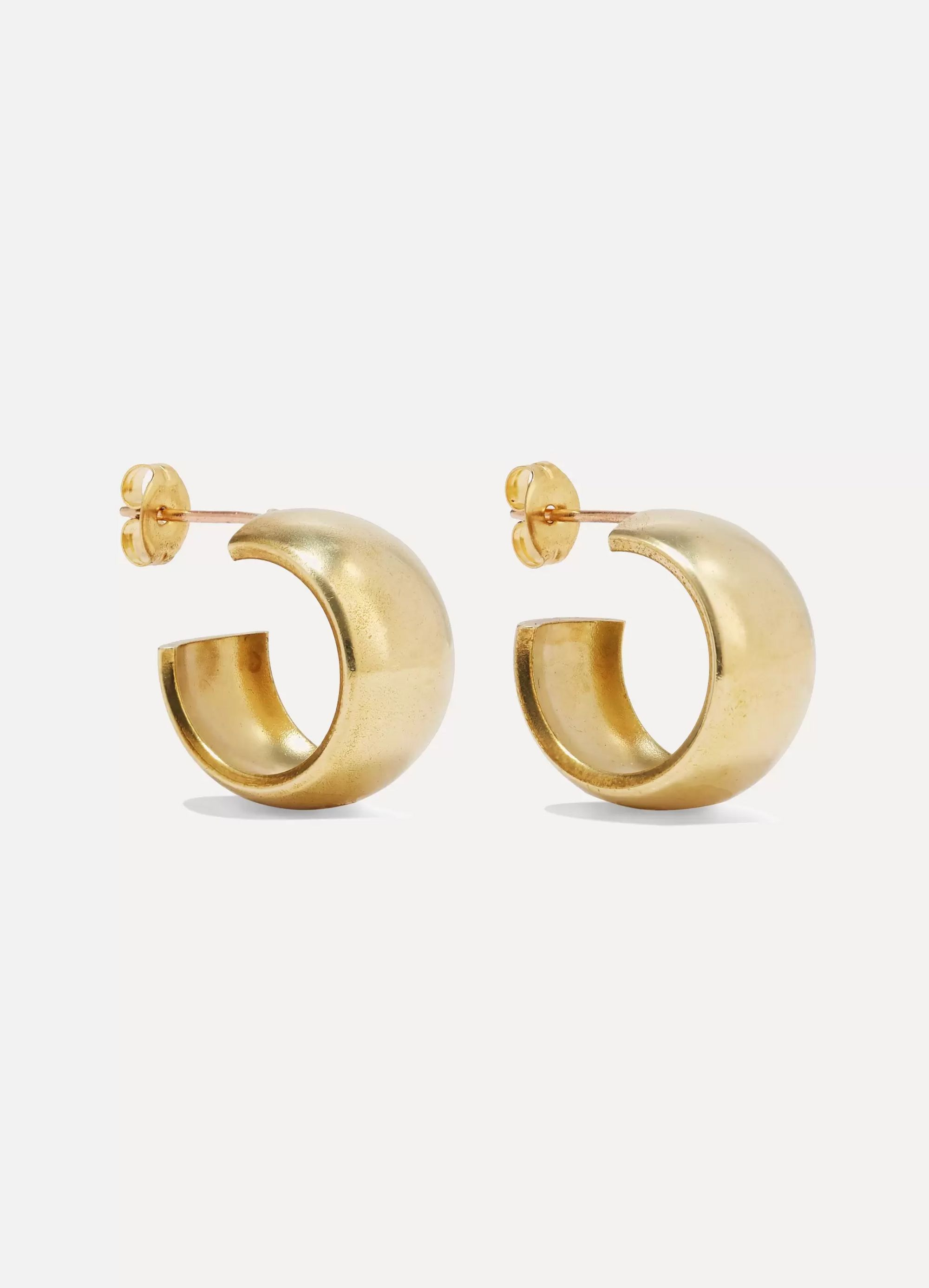 Laura Lombardi Luna gold-tone earrings