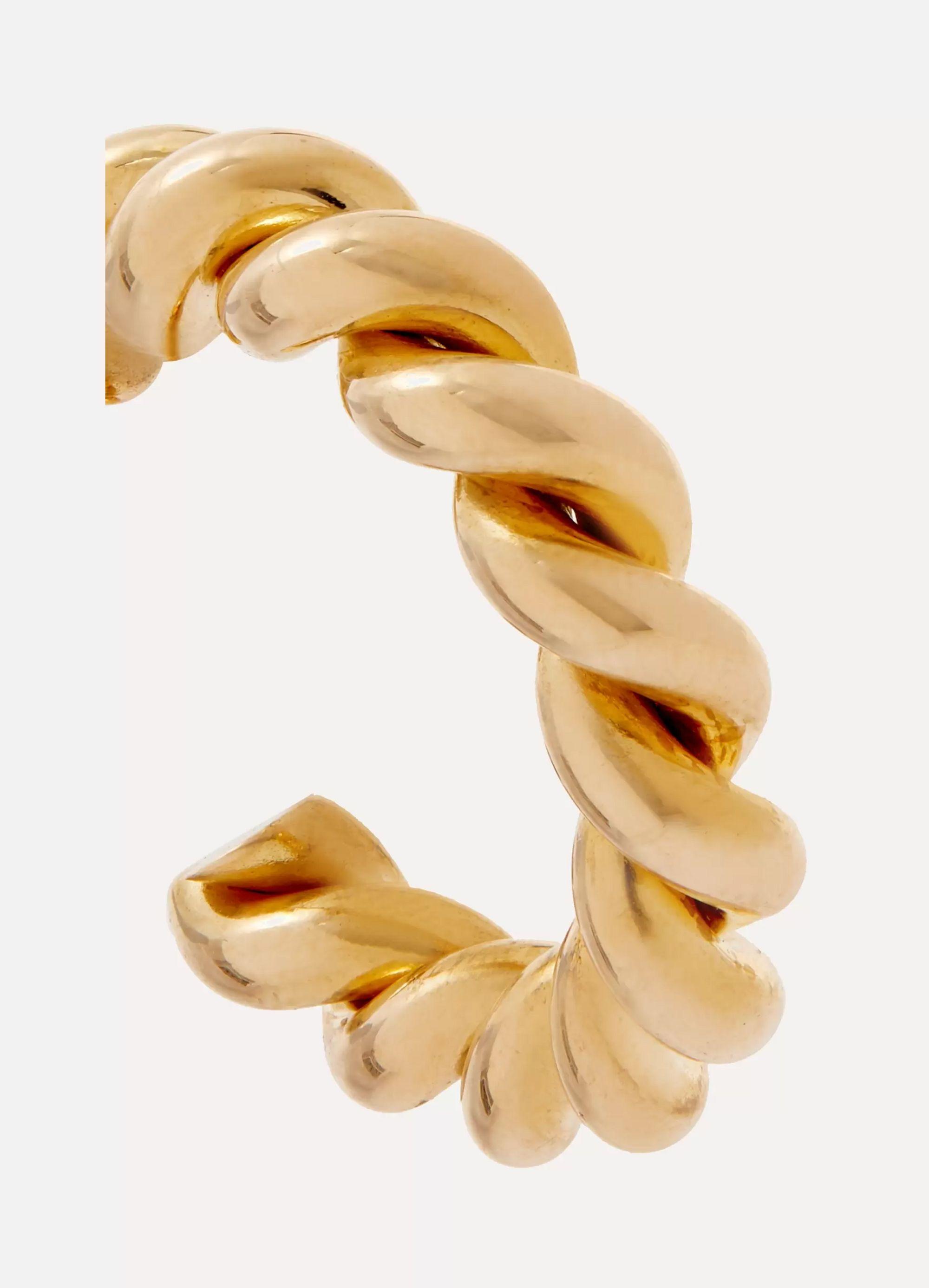 Laura Lombardi Mella gold-tone hoop earrings