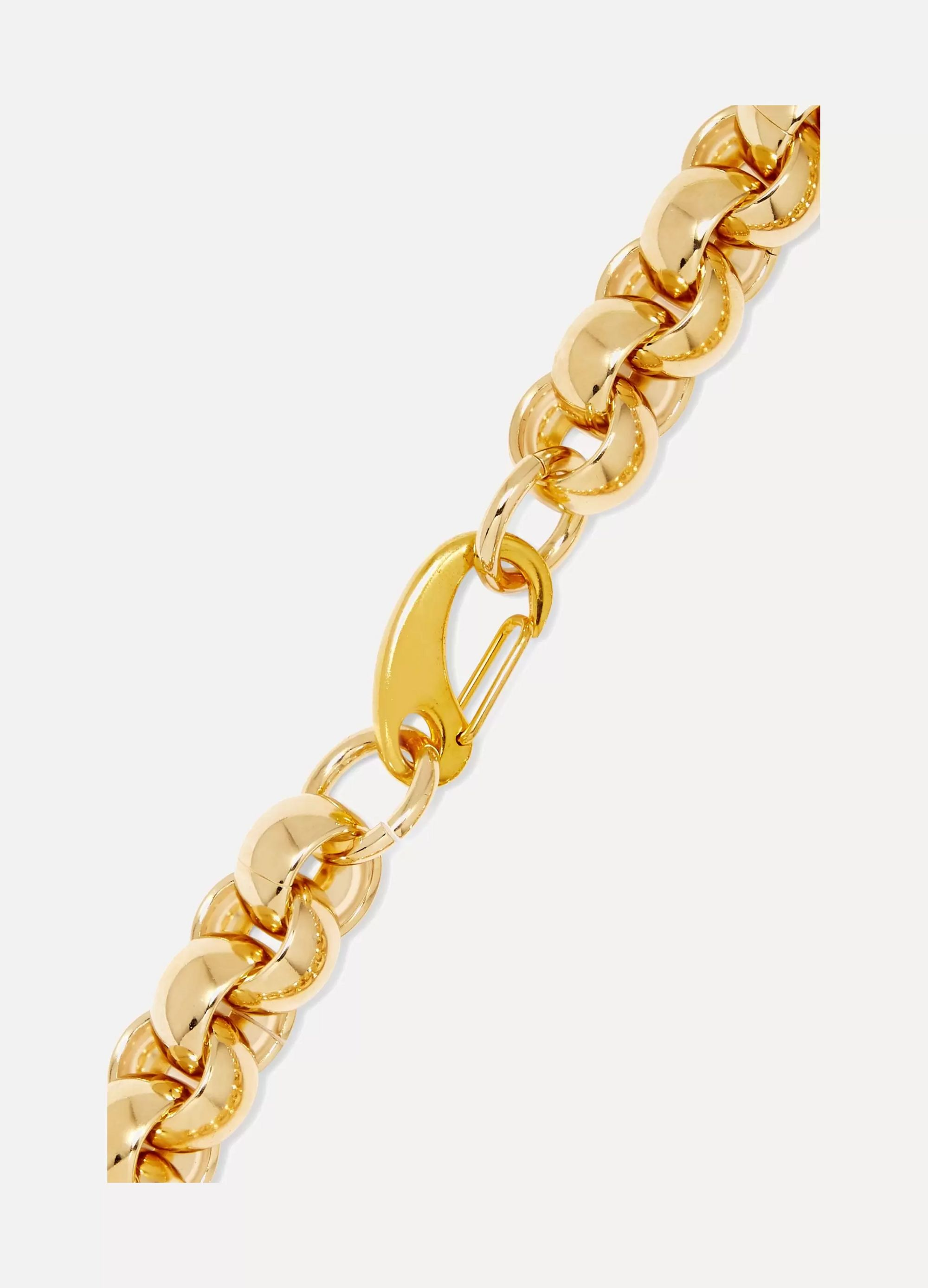 Laura Lombardi Luna gold-plated necklace