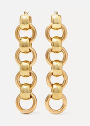 Laura Lombardi Lita gold-tone earrings