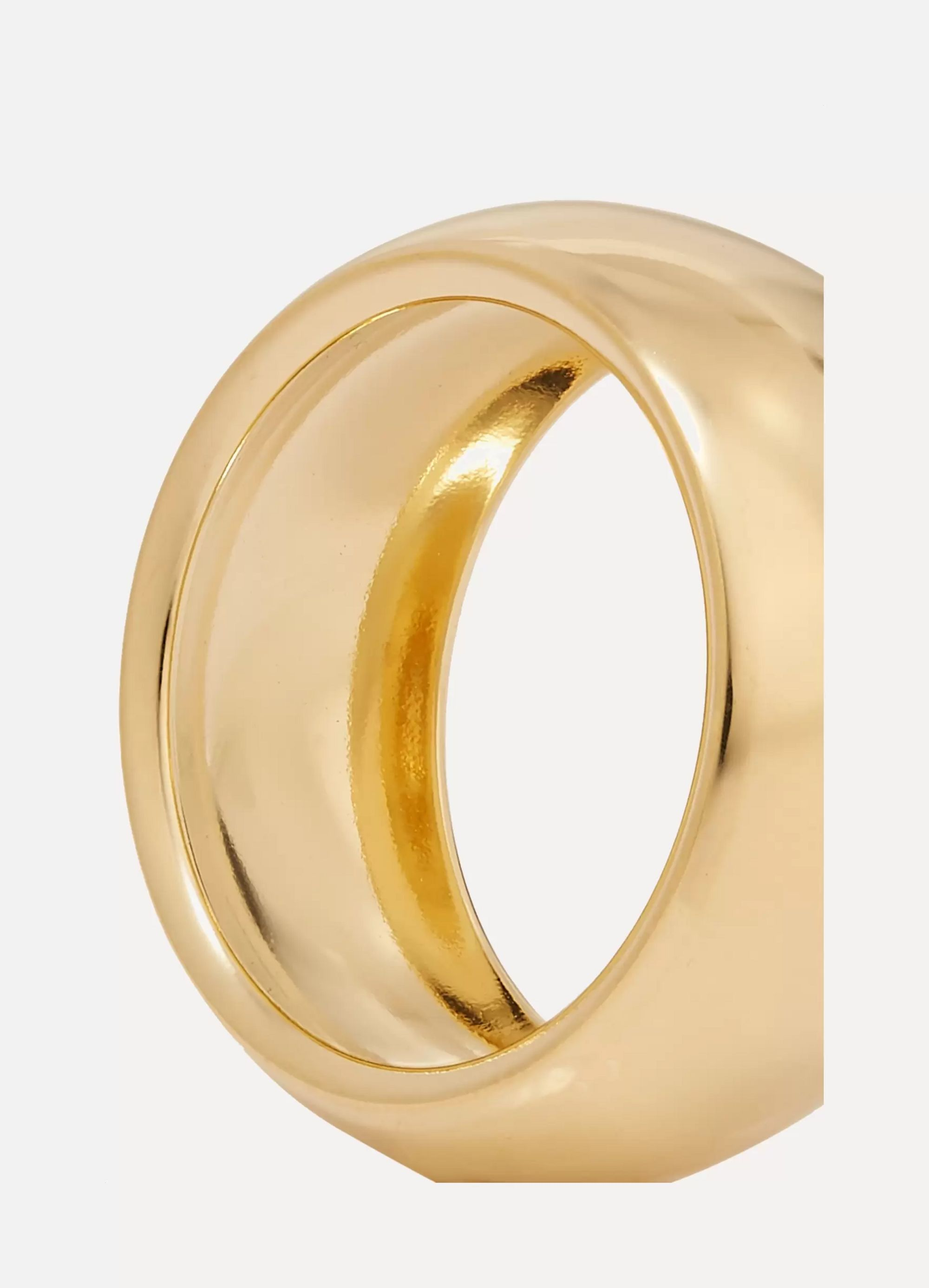 Laura Lombardi Luna gold-tone ring