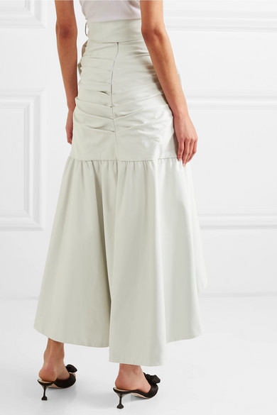ffe8b1e790 Rodarte. Ruffled leather skirt. $851. Reduced further. Play