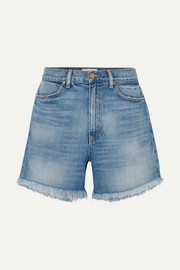 The Easy Cut Off gefranste Jeansshorts