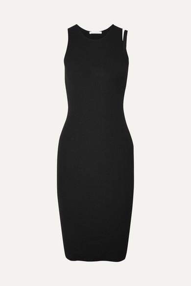 Helmut Lang Dresses Parachute ribbed stretch-knit dress
