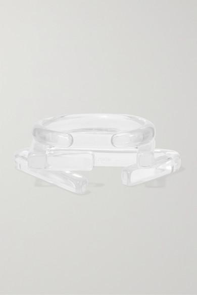 Cult Gaia Jewelry Set of three acrylic cuffs