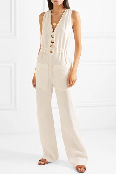 8bbe020efd1 Nicholas. Button-embellished linen jumpsuit