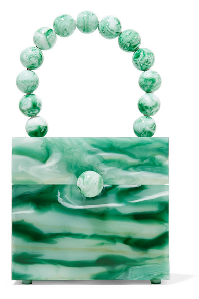Eos Marbled Acrylic Tote by Cult Gaia