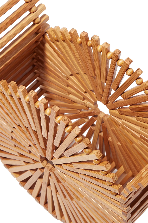 Cult Gaia Zaha mini bamboo clutch