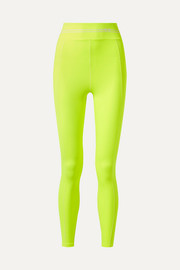 Racer neon stretch leggings