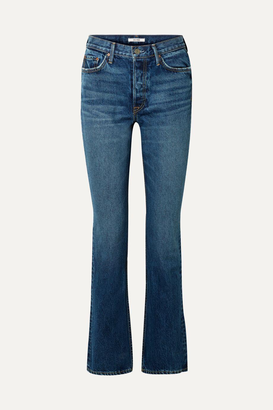 GRLFRND Sunny high-rise flared jeans