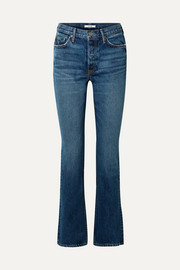 Sunny high-rise flared jeans