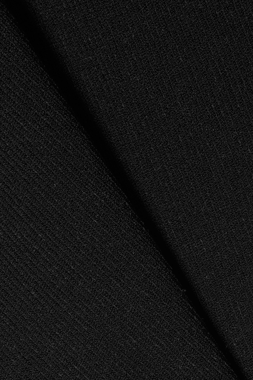Khaite Logan 罗纹弹力针织连体丁字裤式紧身衣