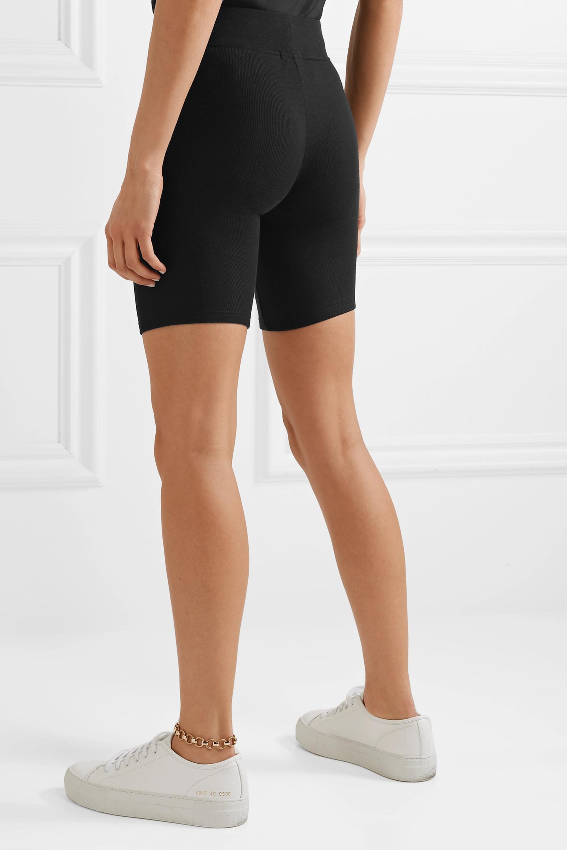 ATM Anthony Thomas Melillo Ribbed stretch-Micro Modal shorts