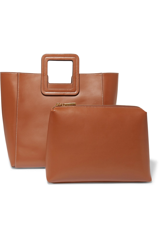 STAUD Shirley leather tote