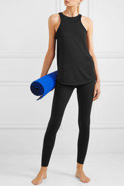 Studio ribbed Dri-FIT stretch-jersey tank