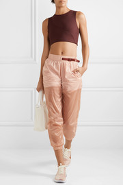 Tech Pack belted shell track pants