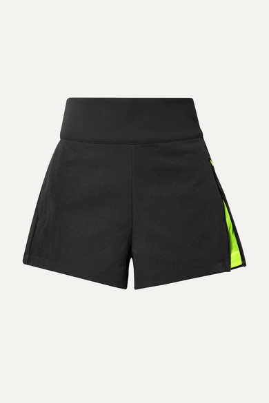 NIKE | Nike - Tech Pack Ripstop-Trimmed Stretch-Twill Shorts - Black | Goxip