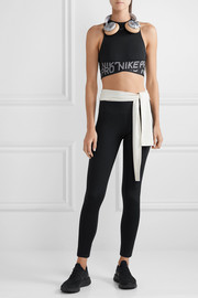Pro Intertwist cropped cutout Dri-FIT and mesh tank