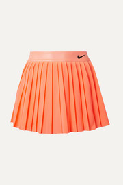 Court Victory pleated neon Dri-FIT stretch skirt