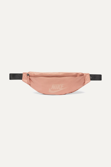 NIKE | Nike - Tech Pack Printed Canvas Belt Bag - Pink | Goxip