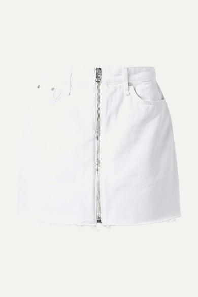 be121fe90 rag & bone   Anna frayed denim mini skirt   NET-A-PORTER.COM