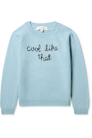 Ages 2 - 6 Cool Like That embroidered cashmere sweater