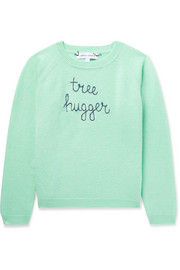 Ages 2 - 6 Tree Hugger embroidered cashmere sweater
