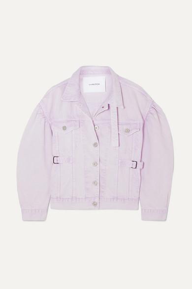 Pushbutton Jackets OVERSIZED DENIM JACKET
