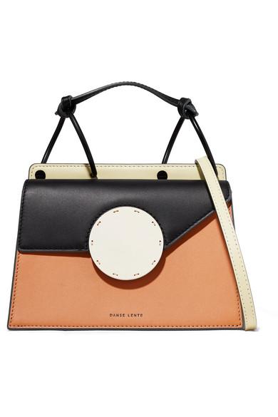 Danse Lente Shoulder Phoebe Bis color-block leather shoulder bag