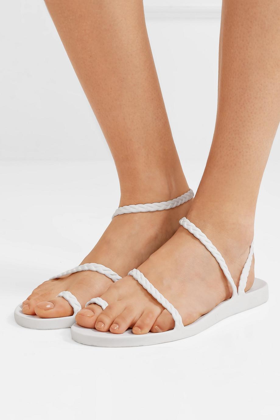 Ancient Greek Sandals Eleftheria braided rubber sandals