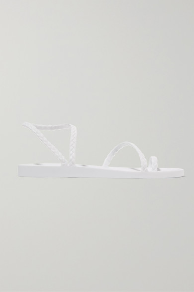 Ancient Greek Sandals Sandals Eleftheria braided rubber sandals