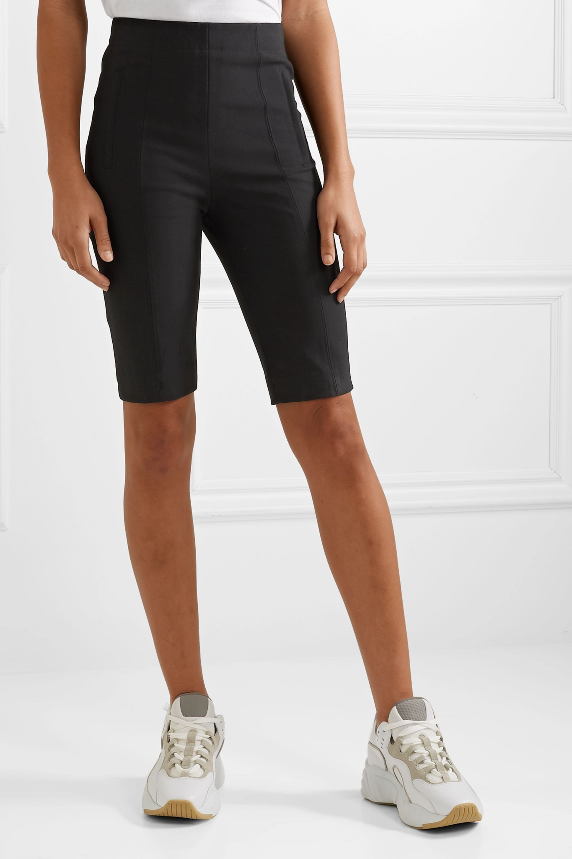 Tibi Anson woven shorts