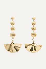 Ariana Boussard-Reifel Kabuki gold-tone earrings