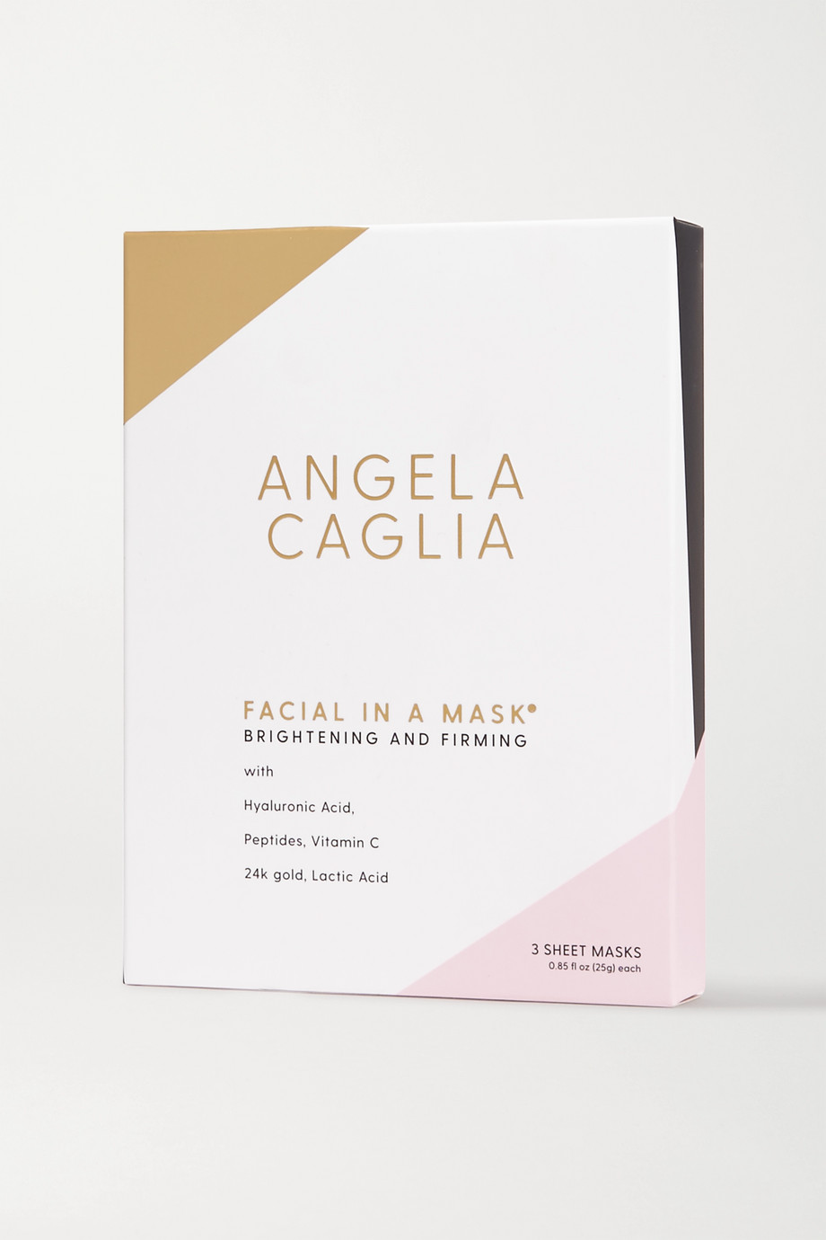 Angela Caglia Facial in a Mask, 3 x 25ml