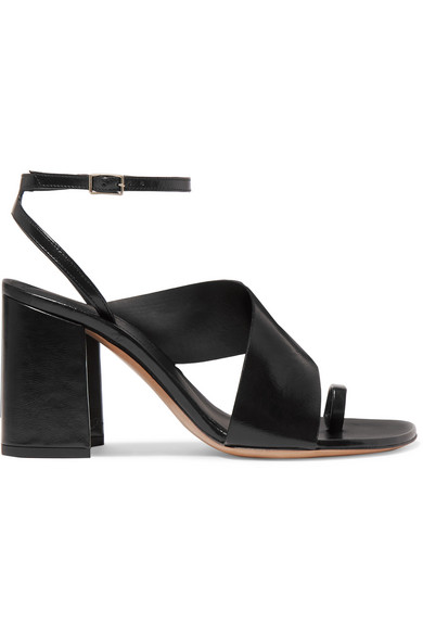 b0a76325b0 Dries Van Noten | Leather sandals | NET-A-PORTER.COM