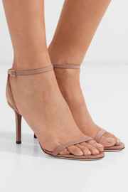Jimmy Choo Minny 85 leather sandals
